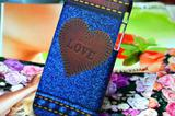 Накладки Denim Love для Apple iPhone 4, 5 и 5C