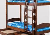 Двухъярусная кровать Фрегат. Массив сосны. 3цвета